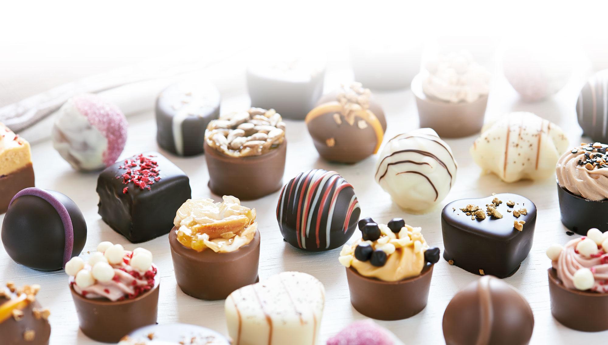 Pralinen, Trüffel, Schokolade, Schokoladenfiguren, Pralinenmanufactur Große Bölting Rhede, Adventskalender online
