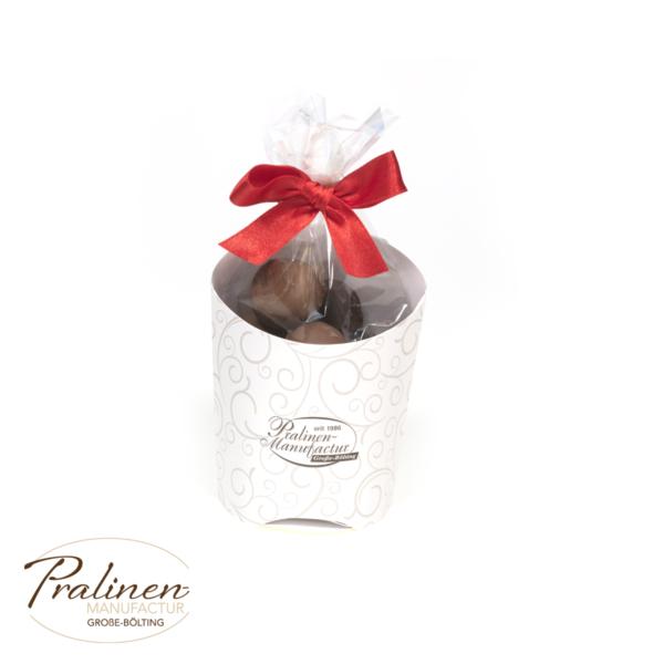 Pralinen Cup (mit Alkohol), geschenk