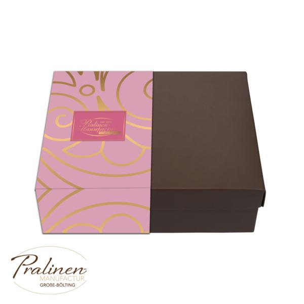 Pralinen kollektion rosé, Pralinenschachtel, Pralinenmischung, pralinen kaufen