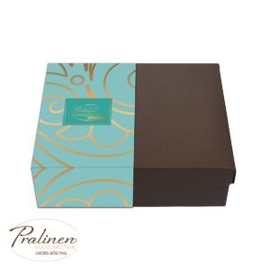 Pralinen kollektion mintgrün, Pralinenschachtel, Pralinenmischung, pralinen kaufen