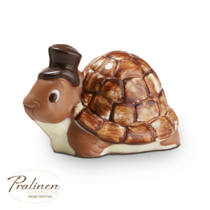 Schildkröte aus Schokolade, Schokofigur, Schokoladenfigur, Schokoladen Geschenke, Schokolade online,